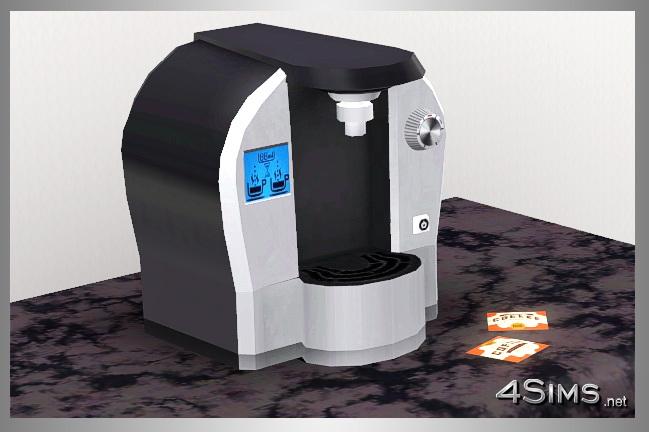 Modern Coffee Machine For Sims 3 4Sims