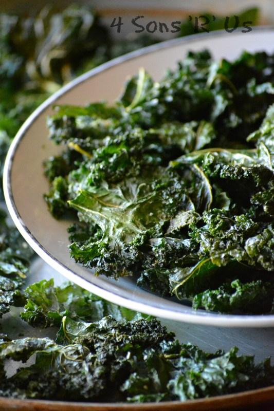 Black Pepper & Parmesan Kale Chips 2