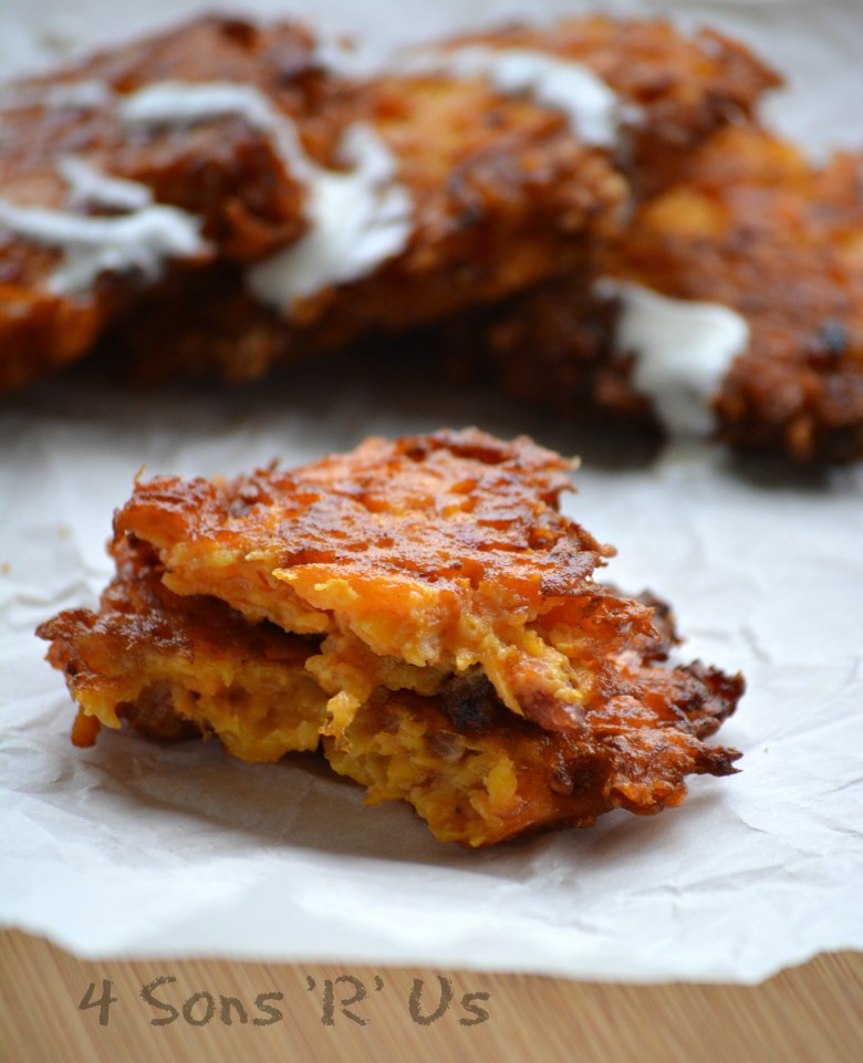 Butternut, Bacon, Cheddar Fritters 2