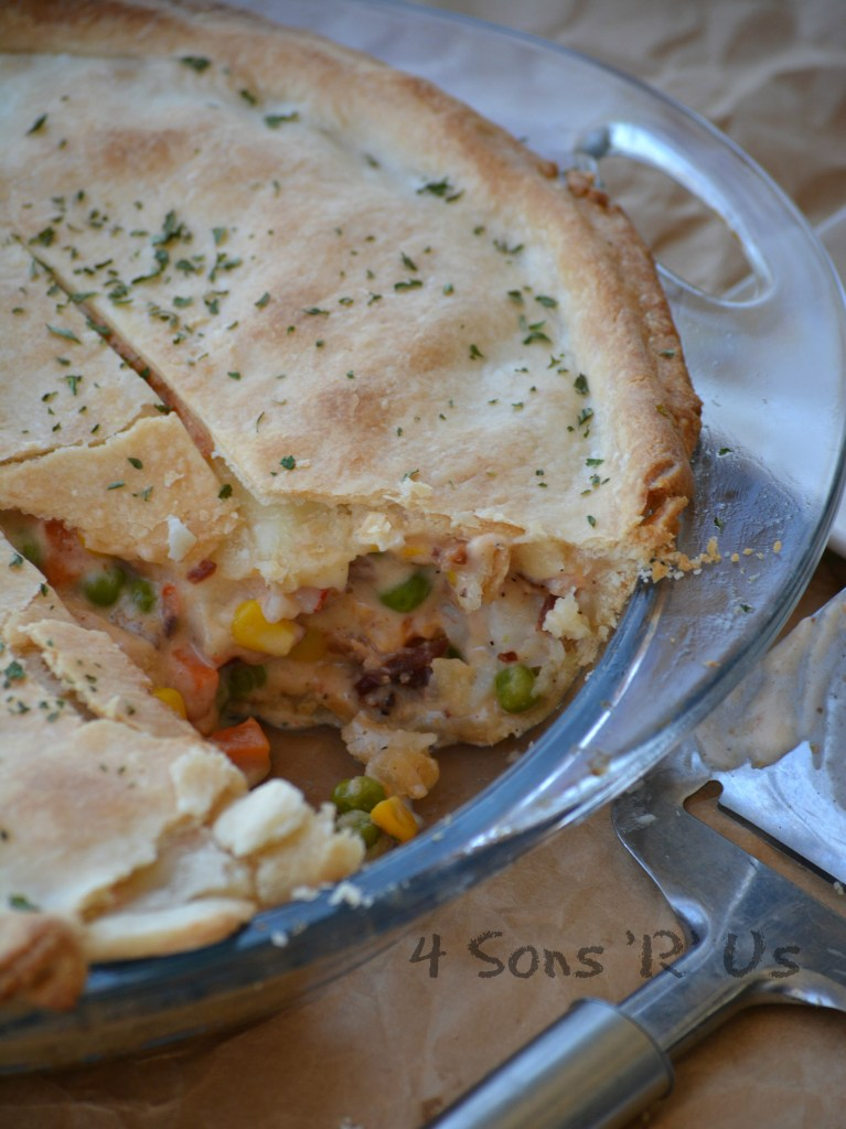 Seafood Pot Pie