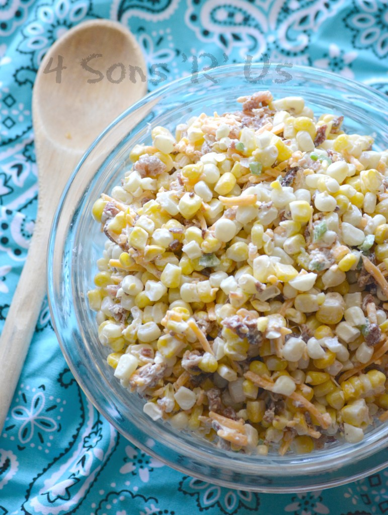 Jalapeno Popper Grilled Corn Salad 2