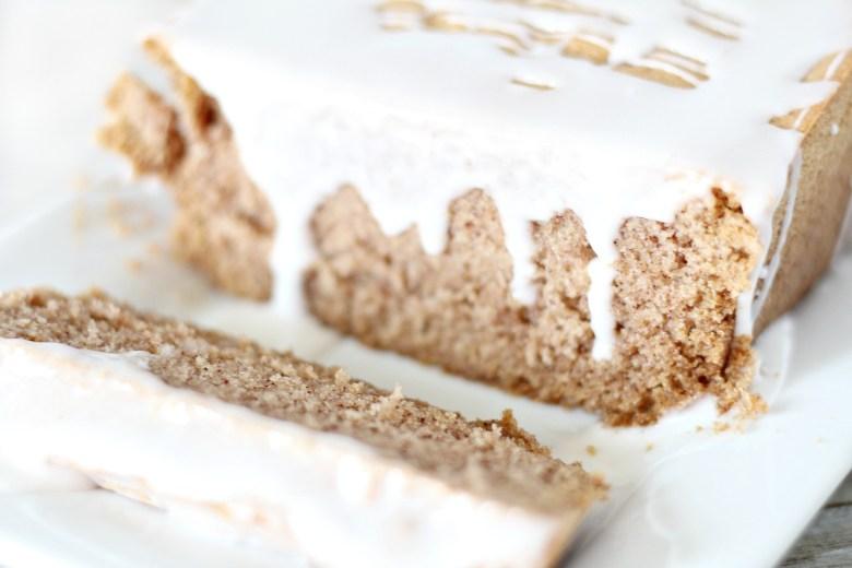 Glazed Ginger Bread Loaf