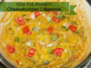 4 Sons 'R' Us: {One Pot Wonder} Cheeseburger Casserole