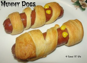 4 Sons 'R' Us: Mummy Dogs