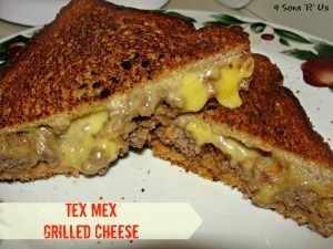 Tex Mex Grilled Cheese