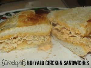4 Sons 'R' Us: Crockpot Buffalo Chicken Sandwiches