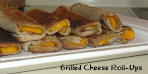4 Sons 'R' Us: Grilled Cheese Roll-Ups