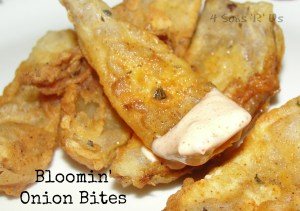 4 Sons 'R' Us: Bloomin' Onion Bites