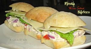 Fiesta Tuna Salad Sliders