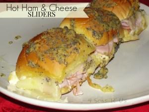 Hot Ham & Cheese Sliders