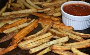 Mexican Street Fries & Salsa Ketchup