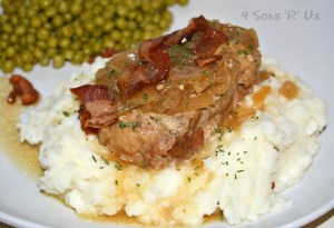 Crockpot Smothered Pork Chops