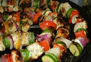 Grilled Greek Chicken Kebobs 2