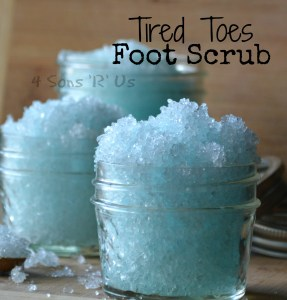 Tired Toes Foot Scrub 4