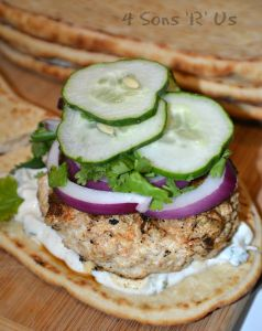 Grilled Chicken Tandoori Burgers 3