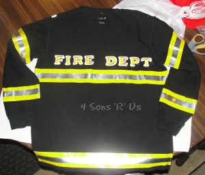 DIY Fireman Costume 2
