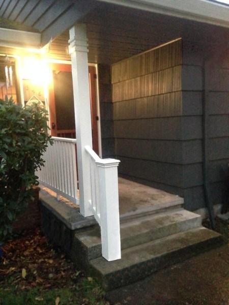 Stephen Peters Handyman Services Stafford Homes Llc | Railing For Concrete Porch | Residential | Paver Patio | Hand | Flagstone Porch | Repair