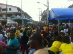The streets fill up for this 4 day celebration of Carnival.