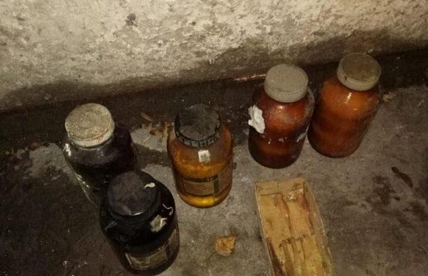 У Львові викинули у контейнер для сміття колби з хімікатами: загорівся спецавто комунальників