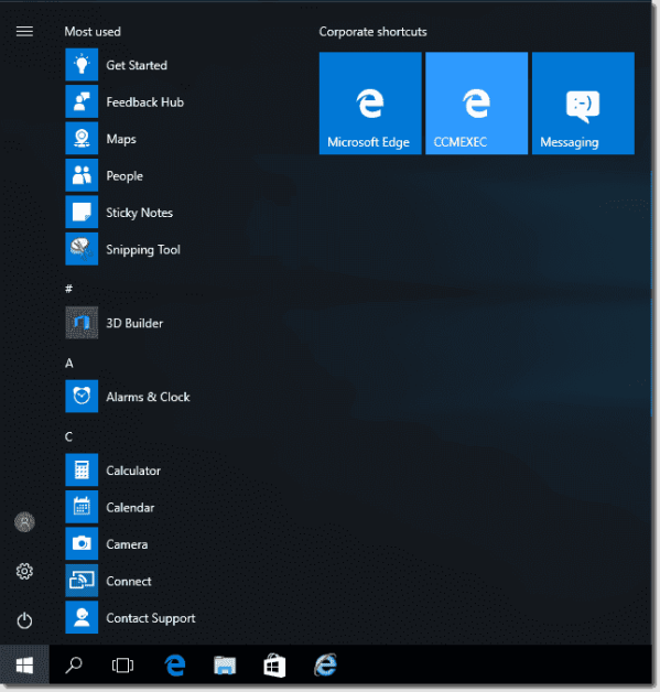 Pin apps to the Taskbar in Windows 10 1607 with Group ...