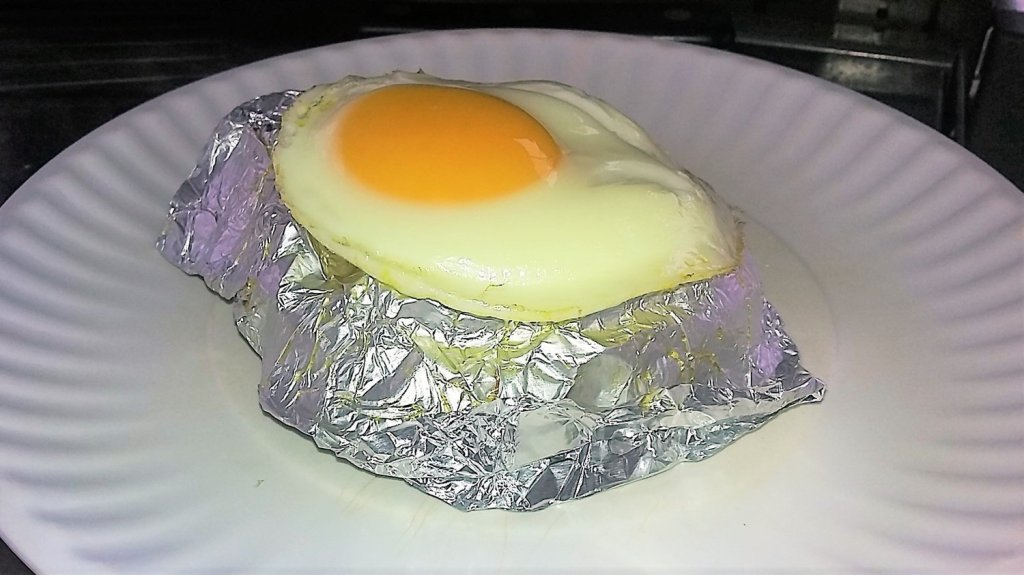 grilled fried egg