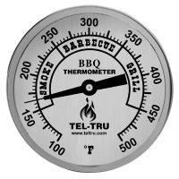 Smoker Thermometer Plain Dial Tel-Tru