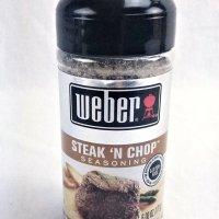 weber steak and chop seasoning