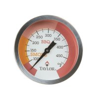 Taylor 814GW Barbecue Pit Thermometer