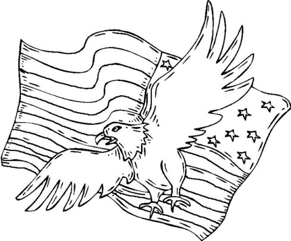 4th of July – The Patriot Day Coloring Pages