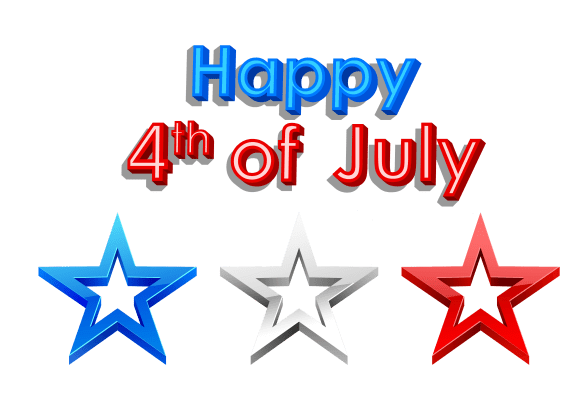 Clipart for 4th of July