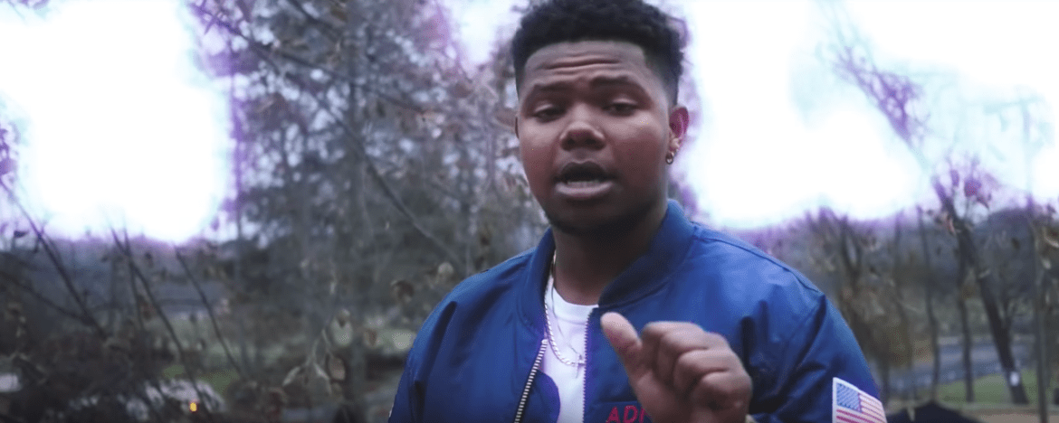 "Marcus Nogood Prepares For 2018 With ""Bleu Faces"" Video"