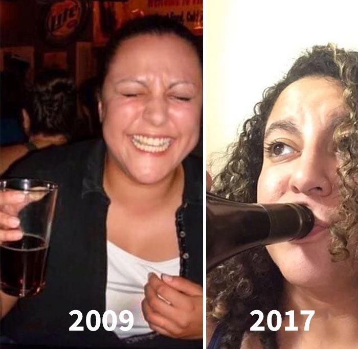 до и после того как стали родителями, Майк Джулианелл