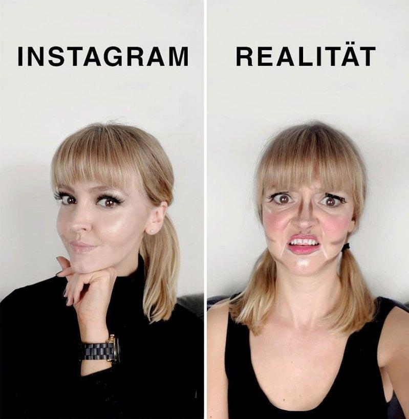 Немка показала разницу между Инстаграмом и реальной жизнью, Джеральдина Уэст, Geraldine West