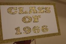 Class of 1966 sign