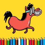 BTS Pony Coloring Book