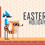 Mordecai and Rigby Easter Holiday