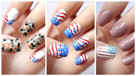 Posted In Fashion Ged 4th Of July Nail Art Design Independence Day