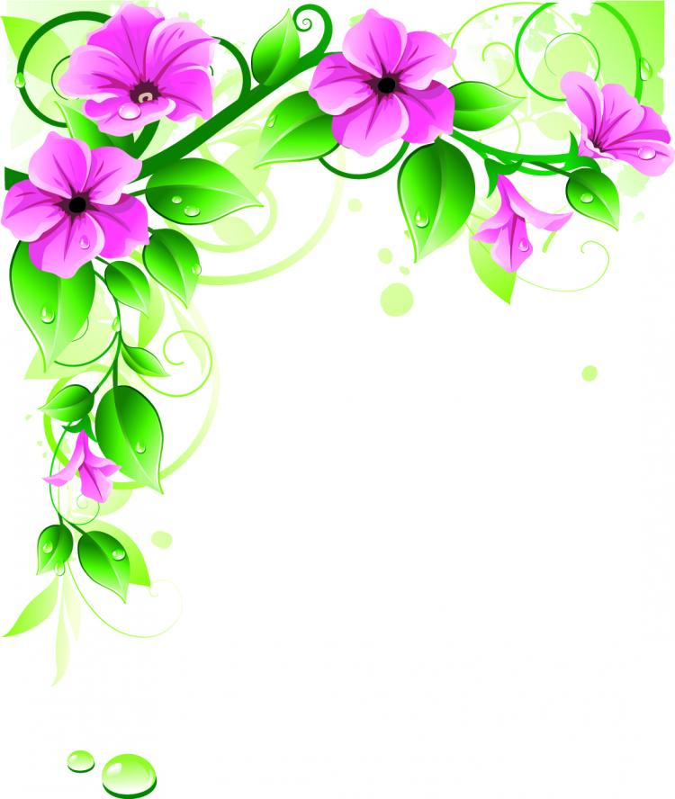 Beautiful Flowers 03 Vector Free Vector 4Vector