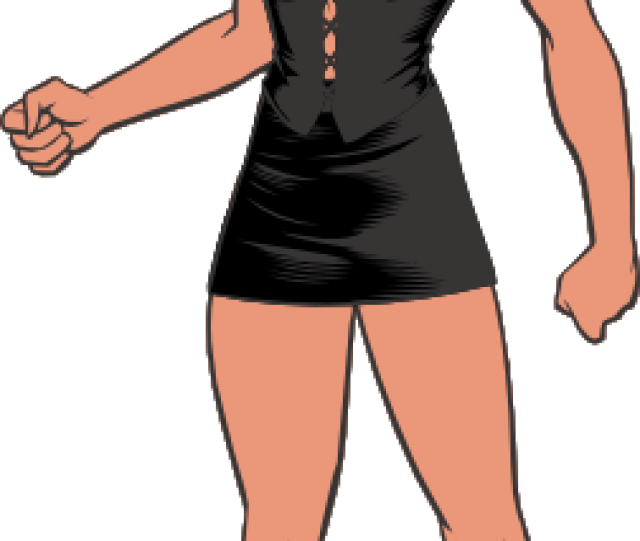 Free Vector Sexy Super Woman Clip Art