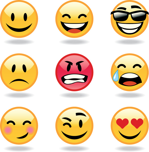 Vector Emoticons Collection Free Vector 4Vector