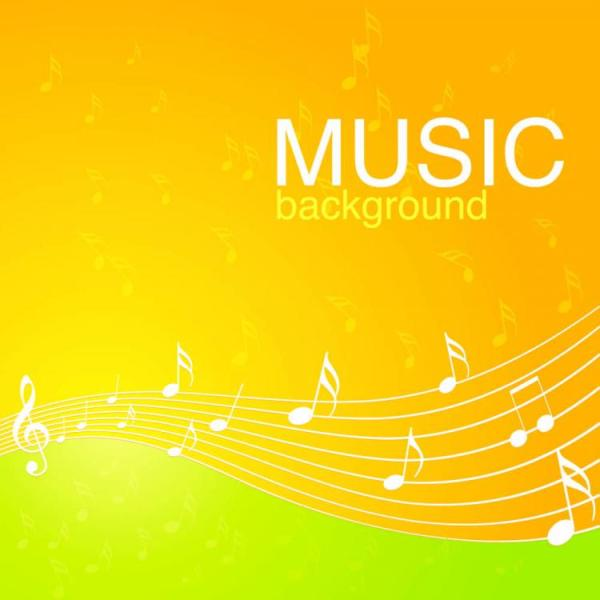 Vibrant music background pattern 04 vector Free Vector ...