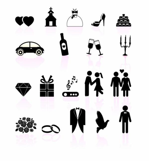 free wedding icons # 30