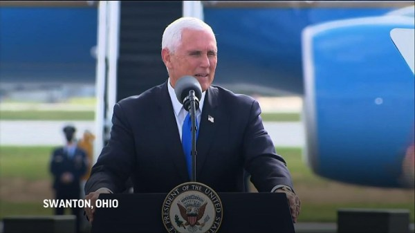Pence in Ohio: Trump 'won debate hands down'