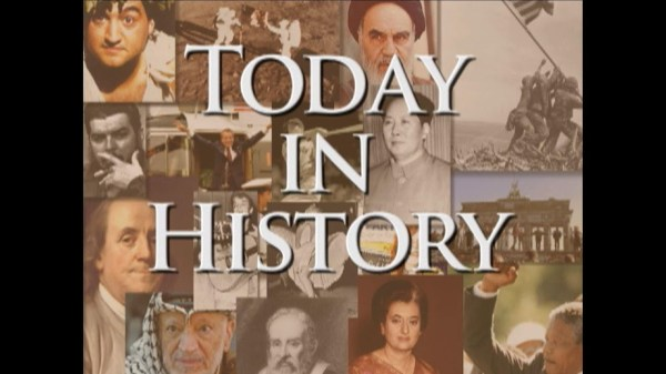 Today in History for October 22nd