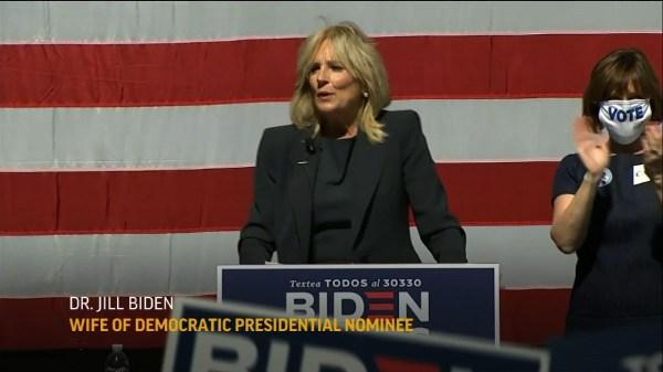 Jill Biden in Florida on Election Day