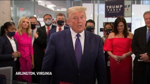 Trump: 'Winning is easy. Losing is never easy'