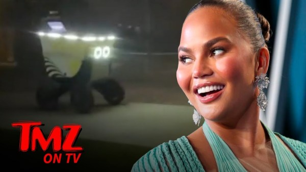 Food Delivery Robots Take Over & Have Chrissy Teigen Amazed | TMZ TV