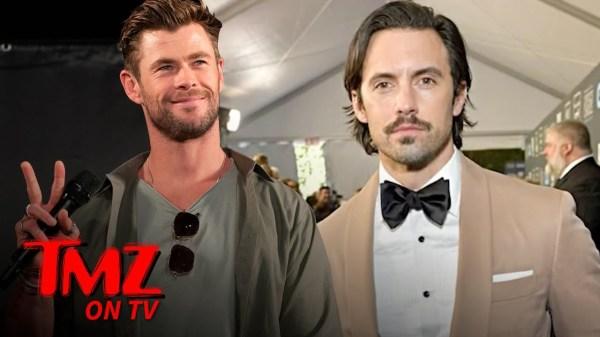 Who'd You Rather  Milo Ventimiglia Vs  Chris Hemsworth?   TMZ TV