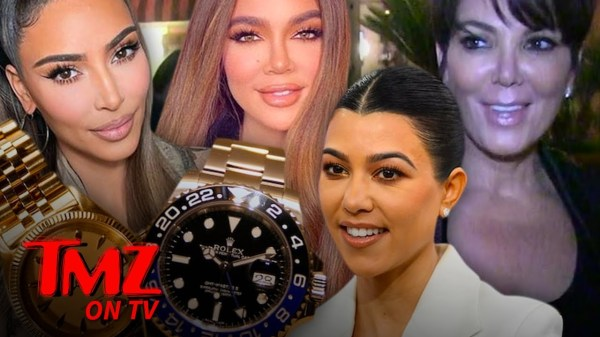 Kardashians Give 'KUWTK' Crew Rolex Watches After Final Episode | TMZ TV