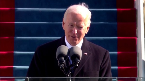 Biden calls for end to 'uncivil war' in inaugural speech